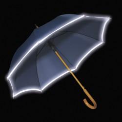 Διαφημιστική ομπρέλα με ανακλαστική λωρίδα