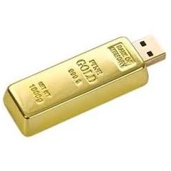 Διαφημιστικό usb ράβδος χρυσού
