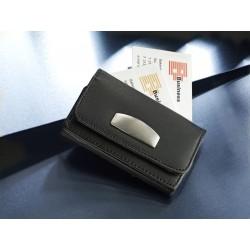 Δερμάτινη καρτοθήκη με μαγνητικό κούμπωμα € 2,60