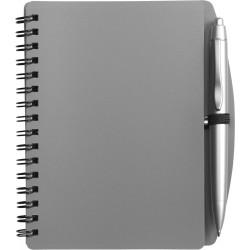 Notebook  σπιραλ  με στυλό € 1,30