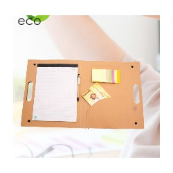 Οικολογικό folder KELEM  με στυλό  € 3,40