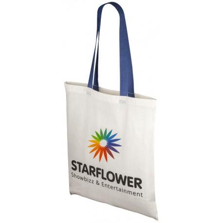 Οικολογική τσάντα με χρωματιστά χερούλια € 1,80