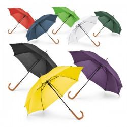 Ομπρέλα αυτόματη με ξύλινη λαβή  € 5,80