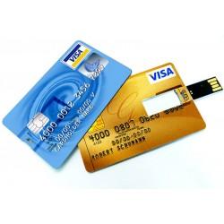 Διαφημιστικό USB σε σχήμα και μέγεθος πιστωτικής κάρτας