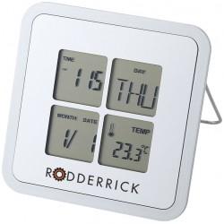 Ρολόι, θερμόμετρο ημερολόγιο LIVORNO € 6,60