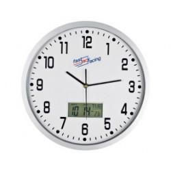 Ρολόι τοίχου, θερμόμετρο, υγρόμετρο € 22,00