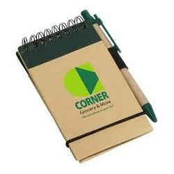 Οικολογικό μπλοκ με στυλό € 1,05
