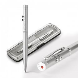 Μεταλλικό στυλό με φακό και laser pointer Ebre € 2,97
