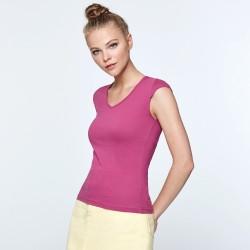Γυναικείο μπλουζάκι v-neck Beatrice € 5,90