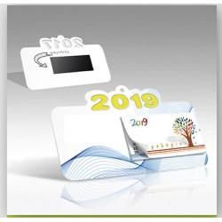 Μαγνητικό ημερολόγιο smart €  1,10