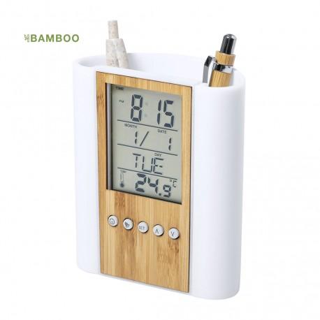 Μολυβοθήκη ρολόι ημερολόγιο θερμόμετρο Petrox € 12,8