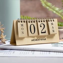 Ανακυκλώσιμο επιτραπέζιο ημερολόγιο Gadner € 1.56