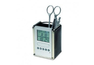 Μολυβοθήκη -  ρολόι - ημερολόγιο